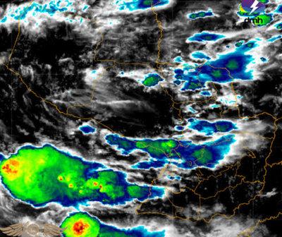 Anuncian tormentas eléctricas para 10 departamentos del país