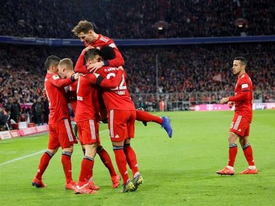 El Bayern se pone a cinco puntos del Dortmund