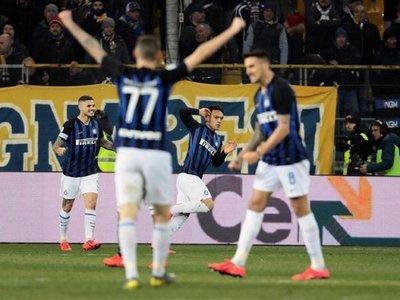 Lautaro llega a tiempo para dar al Inter el primer triunfo de 2019