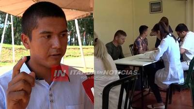 ACAMPA FRENTE AL COMISOE Y PIDE SEA INTERVENIDO POR LAS FUERZAS ARMADAS.