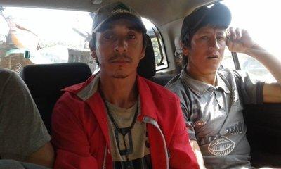 Detienen a tres presuntos invasores en Yhu
