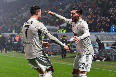 Juventus golea al ritmo de Cristiano