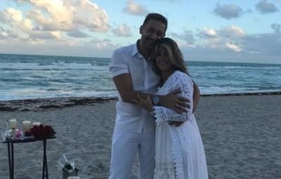 Cynthia Tarragó y su marido renovaron sus votos