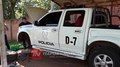 LA POLICÍA NACIONAL DE ITAPÚA REPARÓ UN TOTAL DE 30 PATRULLAS