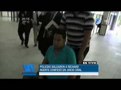 Gatillo fácil: Suboficial confesó que disparó a Richard Pereira