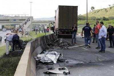 Muere reconocido periodista brasileño en accidente de helicóptero
