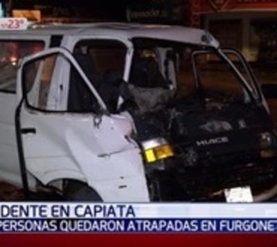 Accidente sobre Ruta 1 deja dos heridos graves