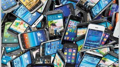 Fiscalía incauta 100 bolsas con aparatos celulares presumiblemente robados