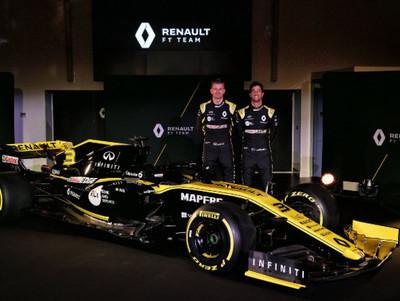 Renault presentó su nuevo coche para la Fórmula 1