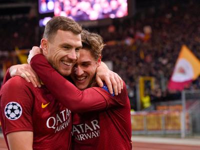 La Roma se hace fuerte de local ante el Oporto