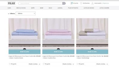 Pilar relanzó su web (para que estés a pocos clics de sus productos)