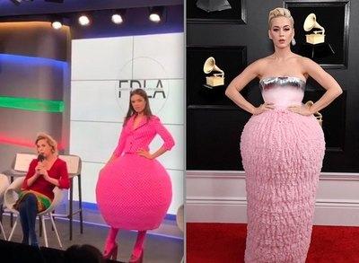 TENDENCIA ¿Mismo vestido de Katy Perry?