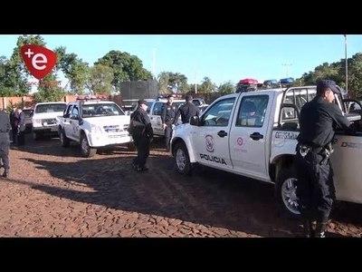 REPARAN 30 PATRULLERAS POLICIALES EN ITAPÚA