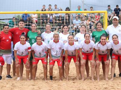 Hoy se pondrá en marcha el Fútbol Playa Femenino