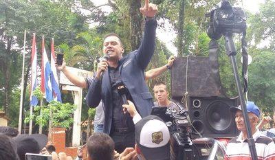 Prieto pide permiso para abocarse a candidatura a la intendencia