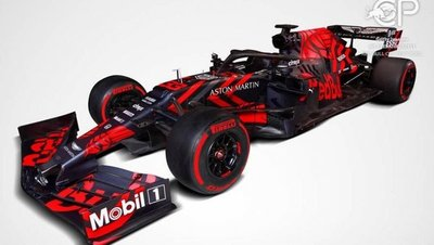 Red Bull desvela su nuevo coche