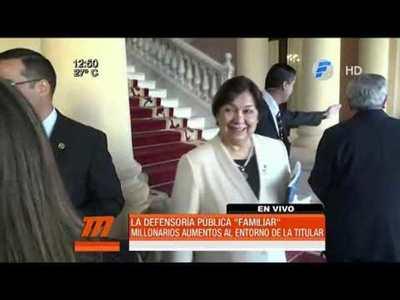"""Millonarios aumentos en la Defensoría Pública """"familiar"""""""