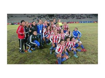 Paraguay alcanza la presea de oro en fútbol femenino