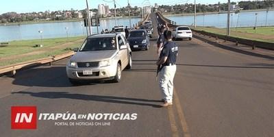"SEGUIRÁN CONTROLES  POLICIALES DE ""PATRULLA GIGANTE"""
