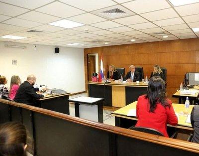 Se inició juicio oral a exministra de la SEN