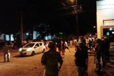 Agitada noche de protestas en Concepción