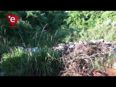 Encarnación: advierten sobre multas por arrojar basura en terrenos