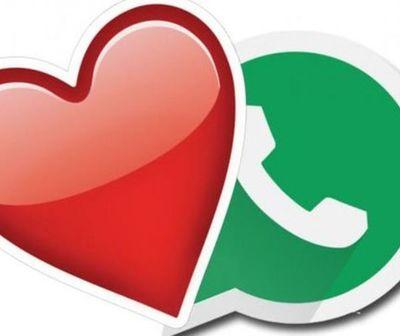 Sticker de WhatsApp para celebrar San Valentín
