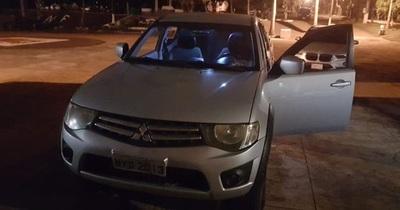 Recuperan en el puente una camioneta robada en Foz de Yguazú