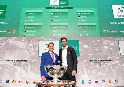 Croacia-España y Francia-Serbia, en la fase final de la nueva Copa Davis