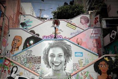 La lucha de Marielle Franco 'vive' en la obra de artistas negras