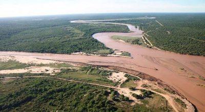 Alerta para 10 comunidades chaqueñas por crecida del río Pilcomayo