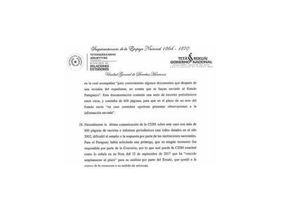Barriocanal responsabilizó a la Comisión