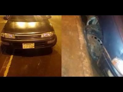 Encarnación: Dejó la llave puesta, le robaron el vehículo y el ladrón chocó