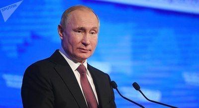 Putin afirma que no existen países plenamente independientes en el mundo actual
