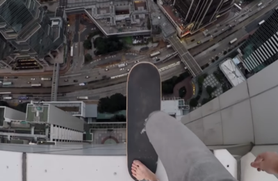 Policía investiga a skater ruso que arriesga su vida en los rascacielos de Hong Kong