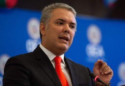 """Duque urge a la OEA afianzar el """"cerco diplomático"""" contra Nicolás Maduro"""