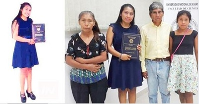 Nativa obtiene título universitario gracias a la venta de miel