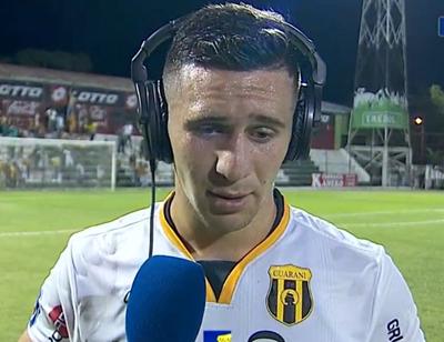 Jorge Morel y la felicidad del gol