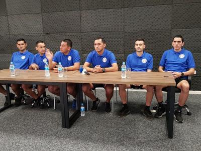 Conferencia de los árbitros del superclásico