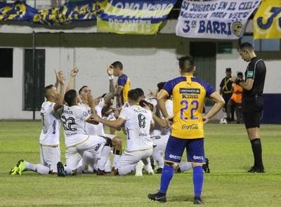 Guaraní supera a Luqueño en La Arboleda