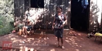 EXTREMA POBREZA GOLPEA A UNA MADRE Y SU HIJO CON DISCAPACIDAD EN ENCARNACIÓN.