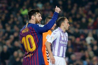 Con el penal de Messi