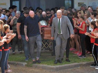Dieron el último adiós a Emiliano Sala