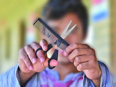 En recuperación de la adicción al crac se volvió peluquero