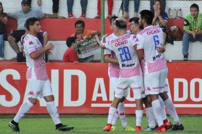 San Lorenzo logra una victoria ante Deportivo Santaní