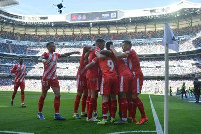 Girona asalta el Bernabéu