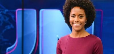 Por primera vez mujer de raza negra es presentadora de noticiario de Red Globo
