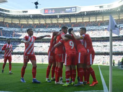Girona sorprende al Real Madrid en el Bernabéu