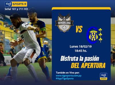 Previa del partido General Díaz vs. Deportivo Capiatá