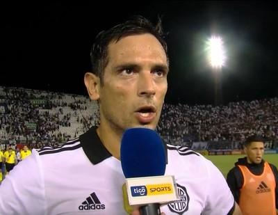 Roque Santa Cruz y sus sensaciones luego del empate en el clásico